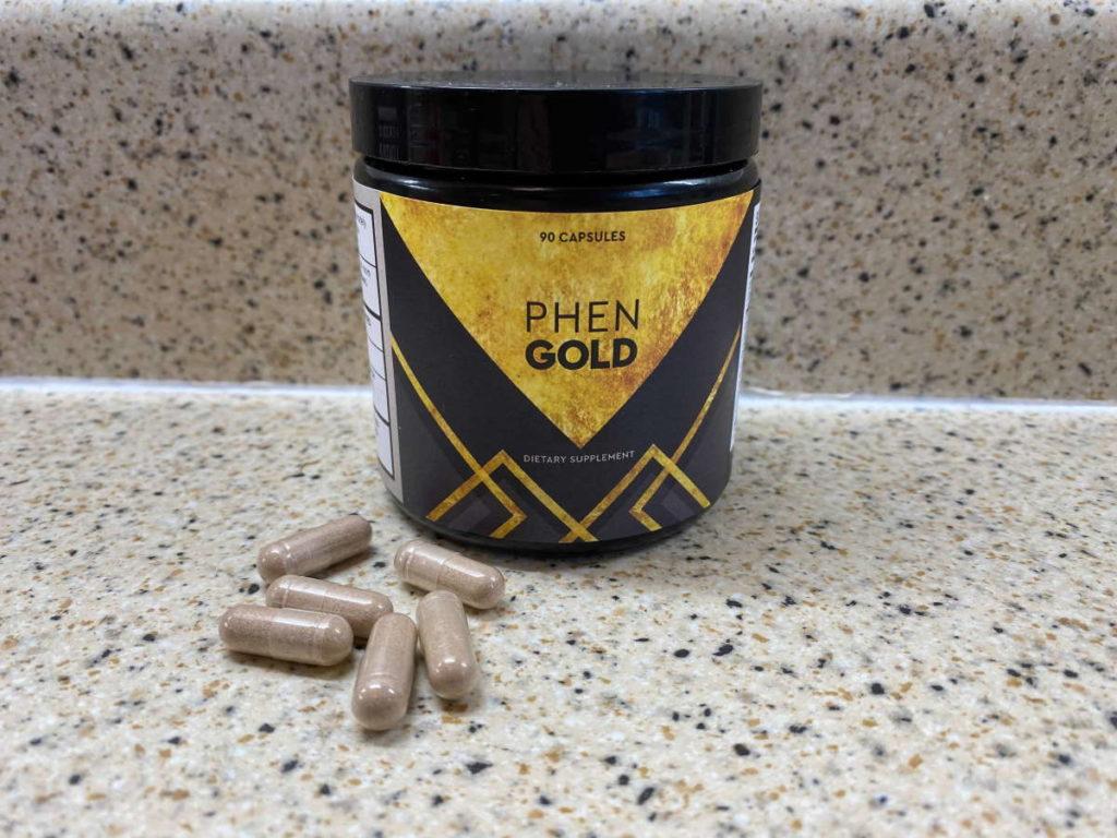 phengold pills image